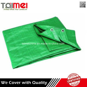 Cheap Plastic Truck Cover Tarpaulin Sheet with Grommets pictures & photos