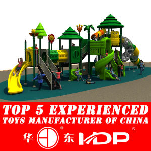 2017 New Mould Factory Kids Exercise Outdoor Playground Slide Equipment pictures & photos