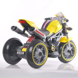 New PP Plastic 3 Wheels Baby Electric Motorcycle pictures & photos