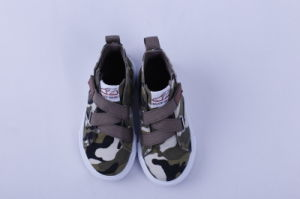 Vulcanized Shoes for Kids Rubber Outsole Bz1608 pictures & photos