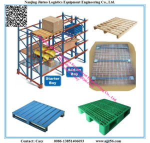 Heavy Duty Double Deep Pallet Rack for Warehouse Storage System pictures & photos