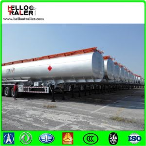 Tri-Axle 40000L Fuel Tank Truck Trailer pictures & photos