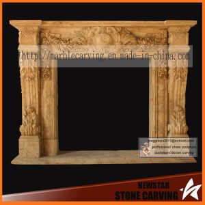 Home Decorative Electric Fireplace, Marble Fireplace, Granite Fireplace pictures & photos