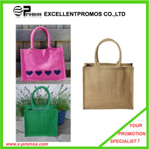Eco-Friendly Logo Customized Promotional Jute Bag (EP-B9062) pictures & photos
