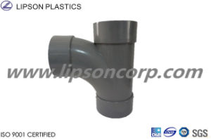 Lipson Plastic Tee Y Tee PVC Sanitary Pipes Fittings pictures & photos