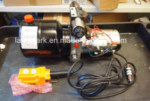 3 Quart 2 HP Hydraulic Power Unit / 12VDC 2500 Psi 1.3 Gpm pictures & photos