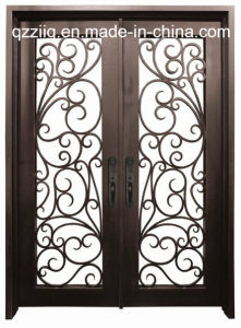 Top Selling Double Wrought Iron Door (ZY-IR067)