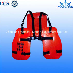 Solas PVC Three Pieces Sea Working Life Jackets pictures & photos