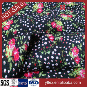 Printed Little Flower 100% Rayon Fabric for Women′s Fabric pictures & photos