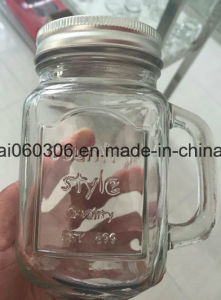 Sippin Mason Jar Drinking Glasses with Lids pictures & photos
