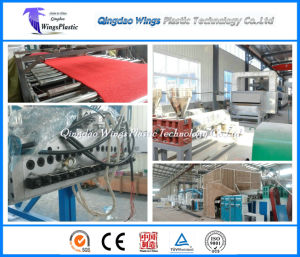 Ce & ISO PVC Coil Cushion Floor Mat Manufacturing Machine / Extrusion Line pictures & photos