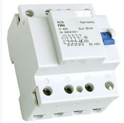 F360 Residual Current Circuit Breaker, Earth Leakage Circuit Breaker, RCCB, ELCB, Rcd pictures & photos