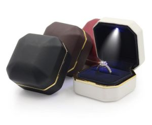 New Jewellry Showing Boxes with LED Lights pictures & photos