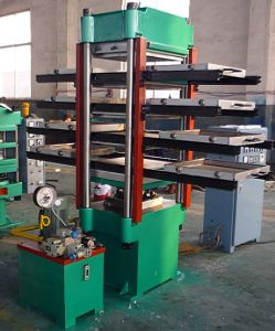 Plate Rubber Vulcanizier Press 50t pictures & photos