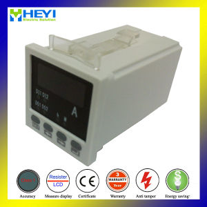 Rh-AA81 48*48 Hole Size Stop Mini Digital Electric Current Meter Single Phase LED Display pictures & photos