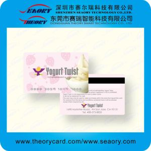 Full Color Printing PVC Card with Loco or Hico Magnetic Strip pictures & photos