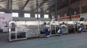 Stainless Steel 3000b/H Continuous Spray Cooling Tunnel pictures & photos