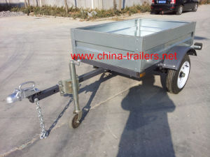 Light Box Trailer for Sale Tr0406 pictures & photos