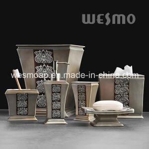 Mistery Style Polyresin Bathroom Accessories (WBP0815A) pictures & photos