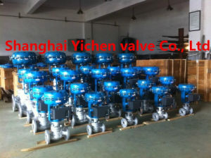 Siemens Explosion-Proof Positioner Pneumatic Diaphragm Control Valve pictures & photos