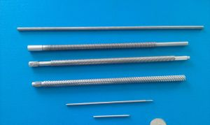 ISO/Ts16949 Certified Stainless Steel Shaft with Thread