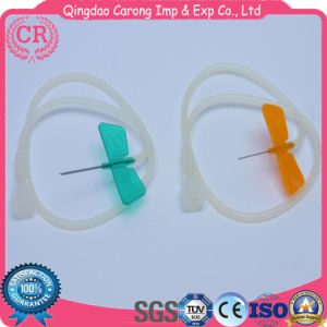 Disposable Double Wing Scalp Vein Set with Infusion Needle pictures & photos