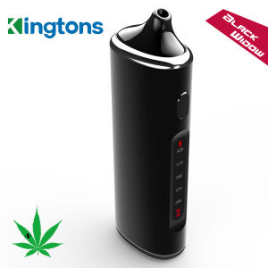 2016 Best Selling Portable Dry Herb Vaporiser Black Widow Vaporiser From Kingtons Factory pictures & photos