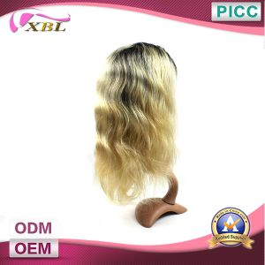 Two Tone Front Virgin Brazilian Hair Wig pictures & photos