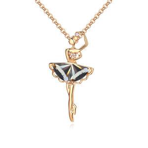 2015 Fashion Gold Alloy Kids Chunky Necklace
