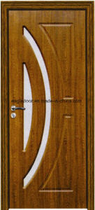 EU Interior Wooden Rounded MDF PVC Door (EI-P090) pictures & photos