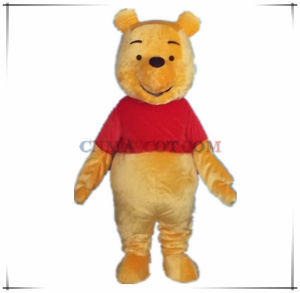 Lovely High Quality Winnie The Pooh Mascot Costume