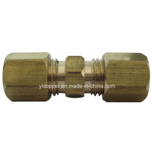 Brass Compression Fittings with Two Sleeves pictures & photos