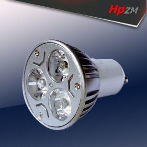 3*1W GU10 LED Spot Light with Ce pictures & photos
