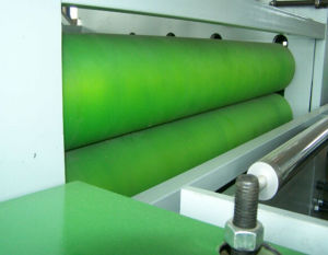 Semi-Automatic Line PVC Wood Plastic Plate Surface Laminating Machine pictures & photos