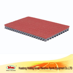 Standard Synthetic Prefabricated Rubber Flooring for Running Track pictures & photos