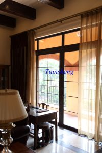 Aluminum Sliding Door with Grille for Villas pictures & photos