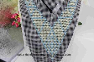 Wholesale Beads Jewelry Beads Rhinestone Sew Patch Neckline Applique (TA-022) pictures & photos