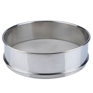 200 Micron Stainless Steel or Brass Standard Laboratory Test Mesh Sieve pictures & photos