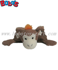 Plush Dark Brown Monkey Animal Squeaker Pet Toy for Dog Bosw1060/30cm pictures & photos