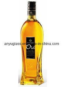 High Quality Super Flint Glass Liquor Bottle 750ml pictures & photos