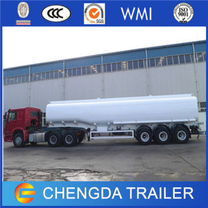 Triple Axles 42000 Litres Fuel Crude Oil Diesel Tank Tanker Semi Trailer for Sale pictures & photos