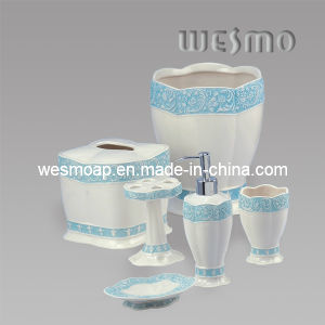 Blue Edge Porcelain Bath Accessory (WBC0416A) pictures & photos