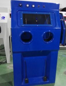 Glass Fiber Reinforced Plastic Wet Blasting Cabinet pictures & photos
