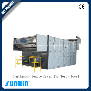 Continuous Tumble Dryer for Terry Towel/ Textile Machine pictures & photos