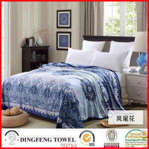2016 New Season Coral Fleece Blanket with Printed Df-8836 pictures & photos