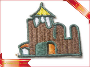 High Quality Self-Adhesive Clothing Embroidery Fabric Patch pictures & photos