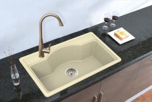 Granite Sink Quartz Wash Basin Hgy003 pictures & photos