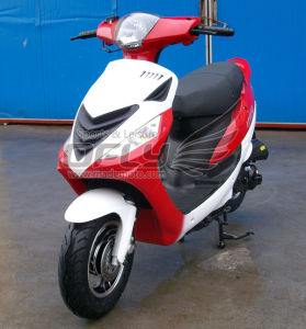 DOT EPA Approved 50CC Gas Motor Scooter (YY50QT-6C(2T)) pictures & photos