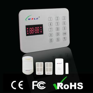Touch Keypad Home Security Alarm System with Multi Language pictures & photos