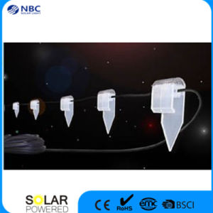 Solar String Light with 10PCS LED with Super White Colour pictures & photos